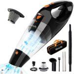 Cordless mini vacuum cleaner